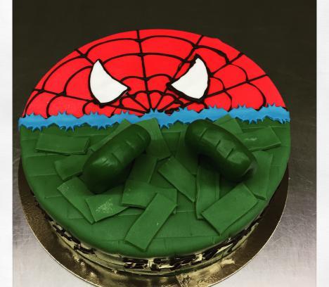 Spiderman Hulk